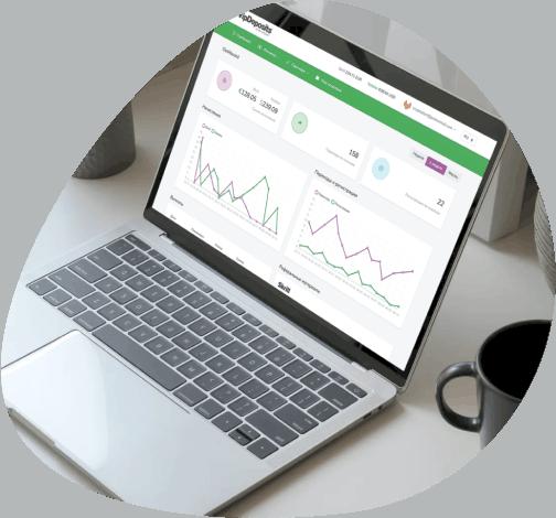 VipDeposits Affiliate platform | Developed by WinSoft.io - Software Development, Design & Consulting, Mobile Development