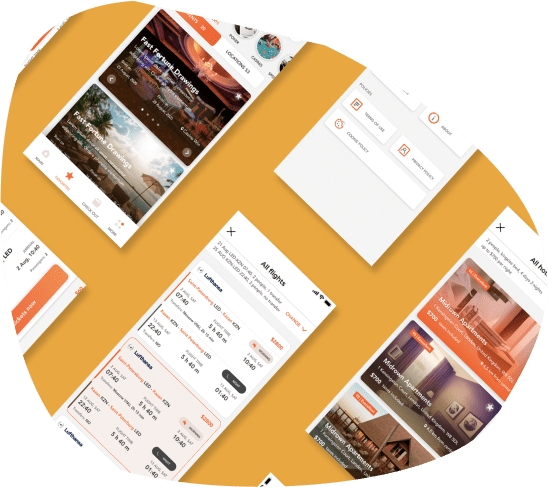 OneFun travel platform | Developed by WinSoft.io - Software Development, Design & Consulting, Mobile Development